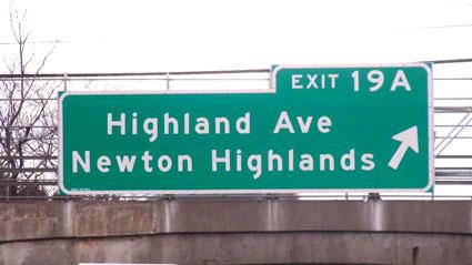 highway sign to Gould HVAC